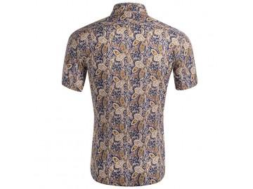 Camisa Estampada Masculina - Multicor