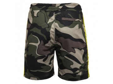 Bermuda Masculina Camuflagem - Verde Exército