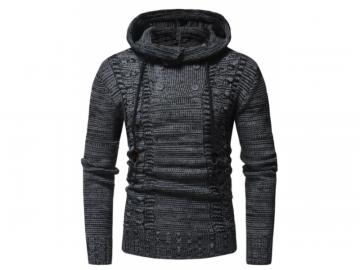 Pullover Masculino Half Button - Cinza Escuro