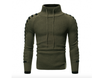 Pullover Masculino Raglan - Verde Militar